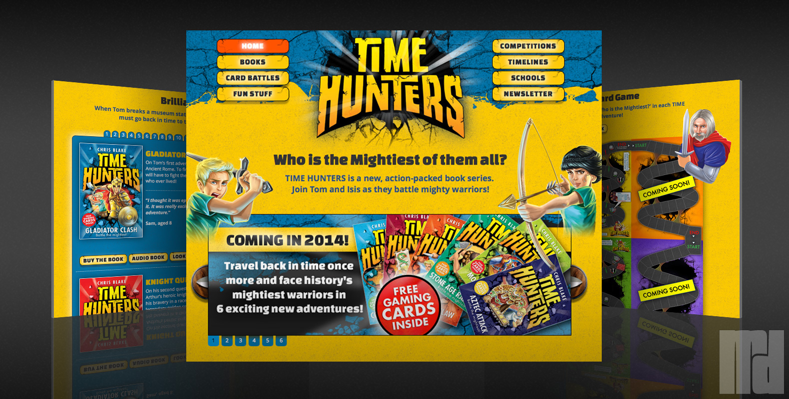 Time Hunters Website
